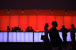 The VIP bar at Art Basel.....Art Basel invades Miami every year in December. This is it's fifth year in South Florida. Galleries from all around the world come to Miami to show their latest works. Over $100 million worth of art was sold during the week of December 7-10.