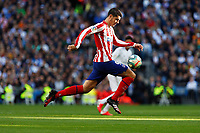 Atletico de Madrid's Alvaro Morata controls the ball during La Liga match. Feb 01, 2020. (ALTERPHOTOS/Manu R.B.)<br /> 01/02/2020 <br /> Liga Spagna 2019/2020 <br /> Real Madrid - Atletico Madrid  <br /> Foto Alterphotos / Insidefoto <br /> ITALY ONLY