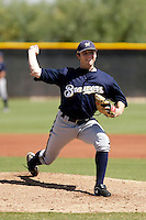 Maverick Lasker - Milwaukee Brewers 2009 Instructional League.Photo by:  Bill Mitchell/Four Seam Images..
