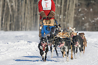 Musher Mike Sanford, 2007 Open North American Championship sled dog race (the world's premier sled dog sprint race) is held annually in Fairbanks, Alaska.