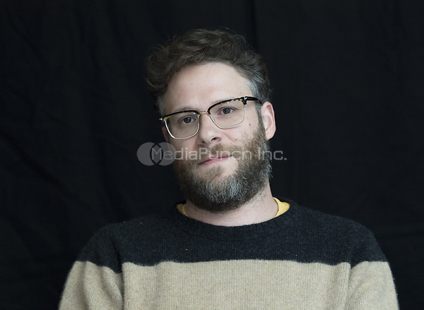 Seth Rogen, who stars in 'Long Shot', at the Four Seasons Hotel in Beverly Hills, CA. 2019/04/12. Photo: Magnus Sundholm /Action Press/MediaPunch ***FOR USA ONLY***