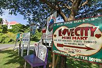 Coral Bay Signs<br /> St. John<br /> U.S. Virgin Islands