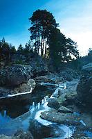 The Falls of Truim and the River Truim, Glen Truim near Newtonmore, Badenoch & Speyside