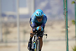 Luis Leon Sanchez (ESP) Astana-Premier Tech during Stage 2 of the 2021 UAE Tour an individual time trial running 13km around  Al Hudayriyat Island, Abu Dhabi, UAE. 22nd February 2021.  <br /> Picture: Eoin Clarke | Cyclefile<br /> <br /> All photos usage must carry mandatory copyright credit (© Cyclefile | Eoin Clarke)
