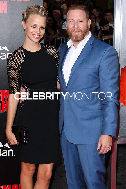 HOLLYWOOD, LOS ANGELES, CA, USA - AUGUST 13: Britta Lazenga, Ryan Kavanaugh at the World Premiere Of Relativity Media's 'The November Man' held at the TCL Chinese Theatre on August 13, 2014 in Hollywood, Los Angeles, California, United States. (Photo by Xavier Collin/Celebrity Monitor)