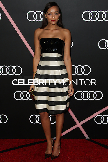 LOS ANGELES, CA - JANUARY 09: Ashley Madekwe at the Audi Golden Globe Awards 2014 Cocktail Party held at Cecconi's Restaurant on January 9, 2014 in Los Angeles, California. (Photo by Xavier Collin/Celebrity Monitor)