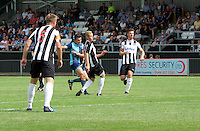 Luke O'Niel of Wycombe Wanderers scores their 2nd goal during the Friendly match between Maidenhead United and Wycombe Wanderers at York Road, Maidenhead, England on 30 July 2016. Photo by Alan  Stanford PRiME Media Images.