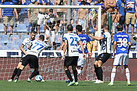 Maya Yoshida scoes the goal of 1-1 during the Serie A football match between UC Sampdoria and FC Internazionale at stadio Marassi in Genova (Italy), September 12th, 2021. Photo Image Sport / Insidefoto