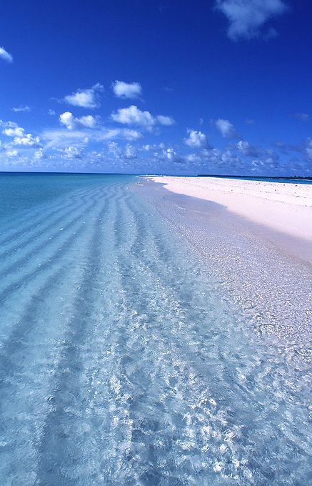 BEACH AT KAYANGAL the northern most island of Palau Micronesia