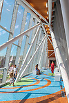 University of Louisville Physicians Novak Center for Children's Health Pedestrian Bridge | GBBN, Uzun + Case, Formation Studios