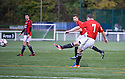 Gala's Ross Aitchison (7) scores their first goal.