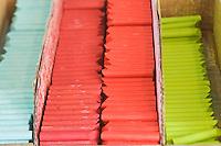 Europe/France/Midi-Pyrénées/81/Tarn/ Graulhet: crayons de pastel  gras chez  L'Artisan Pastellier  dans son atelier du:Pays de Cocagne