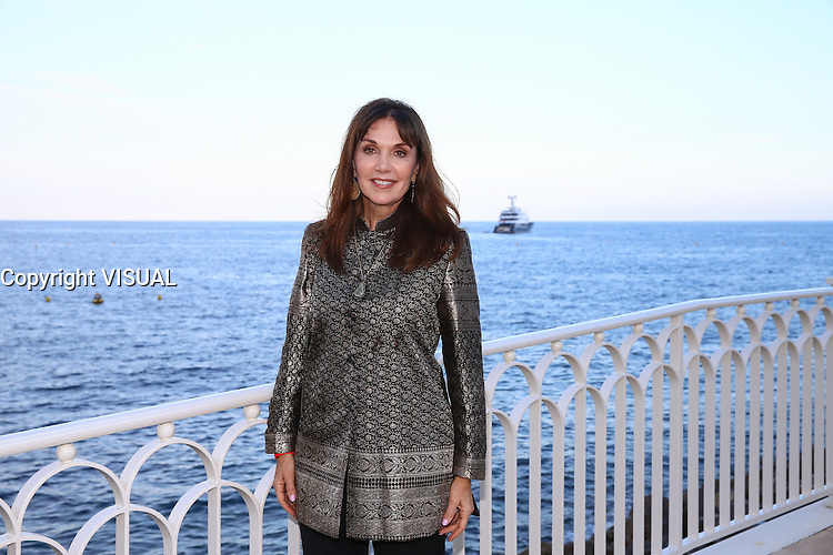 - NO TABLOIDS, NO WEB - 13/06/2016'TV Series' Party at the Monte-Carlo Bay Hotel and Resort during the 56th Monte-Carlo Television Festival. Stepfanie Kramer.