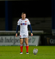 16th November 2020; RDS Arena, Dublin, Leinster, Ireland; Guinness Pro 14 Rugby, Leinster versus Edinburgh; Nathan Chamberlain of Edinburgh gets ready for a penalty kick