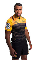 Victor Vito. Hurricanes Super Rugby official headshots at Rugby League Park, Wellington, New Zealand on Wednesday, 6 January 2016. Photo: Dave Lintott / lintottphoto.co.nz