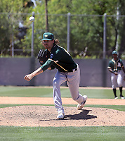 Zack Erwin - Oakland Athletics 2021 spring training (Bill Mitchell)