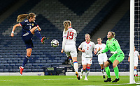 21st September 2021; Hampden Park, Glasgow, Scotland: FIFA Womens World Cup qualifying, Scotland versus Faroe Islands; Christy Grimshaw of Scotland makes it 4-0 in the 39th minute