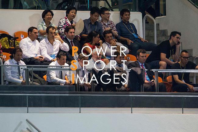 LFP World Challenge 2014 between Valencia CF vs Villarreal CF on May 28, 2014 at the Mongkok Stadium in Hong Kong, China. Photo by Victor Fraile / Power Sport Images
