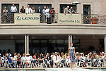 Models walk the runway at the River Oaks Tennis Luncheon Wednesday April 08,2009.(Dave Rossman/For the Chronicle)