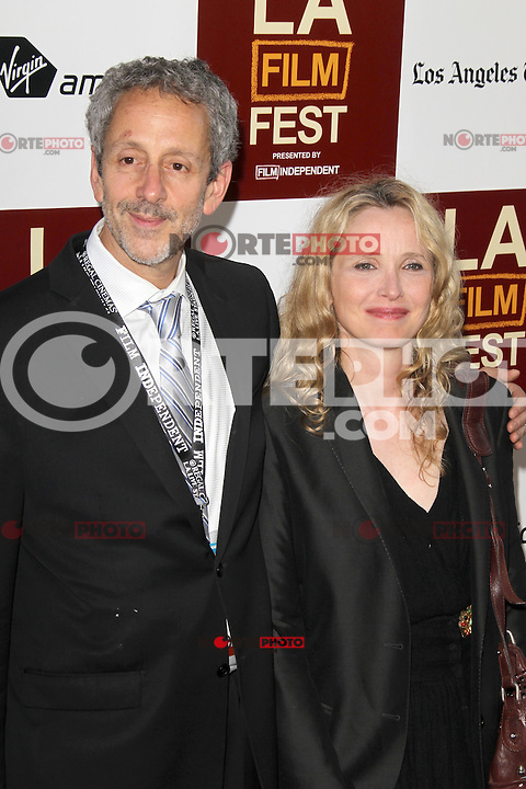 Julie Delpy at Film Independent's 2012 Los Angeles Film Festival Premiere of 'To Rome With Love' at Regal Cinemas L.A. LIVE Stadium 14 on June 14, 2012 in Los Angeles, California. ©mpi21/MediaPunch Inc. NORTEPHOTO.COM<br /> NORTEPHOTO.COM<br /> *credito*obligatorio*<br /> *SOLO*VENTA*EN*MEXICO*