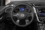 Car pictures of steering wheel view of a 2020 Nissan Murano SV 5 Door SUV Steering Wheel