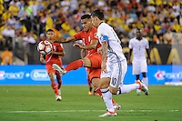 East Rutherford, NJ - Friday June 17, 2016: Peru (PER) vs Colombia (COL) after a Copa America Centenario quarterfinal match between Peru (PER) vs Colombia (COL) at MetLife Stadium.