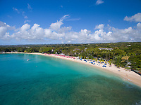 Sandy Lane beach, St. James, Barbados
