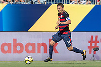 Nashville, TN - Saturday July 08, 2017: Alejandro Bedoya during a 2017 Gold Cup match between the men's national teams of the United States (USA) and Panama (PAN) at Nissan Stadium.