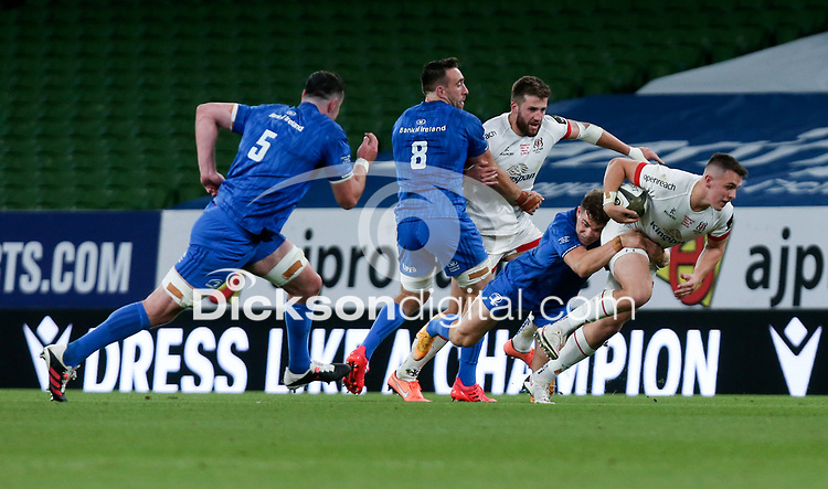 Saturday 12th September 2020 | PRO14 Final - Leinster vs Ulster<br /> <br /> James Hume during the Guinness PRO14 Final between Leinster ands Ulster at the Aviva Stadium, Lansdowne Road, Dublin, Ireland. Photo by John Dickson / Dicksondigital