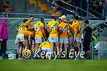 The Kilmoyley team during the County Senior hurling Semi-Final between Kilmoyley and Lixnaw at Austin Stack park on Saturday evening.