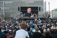Tommy Robinson at BBC in Manchester 23-2-19