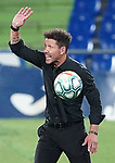 Atletico de Madrid's coach Diego Pablo Cholo Simeone during La Liga match. July 16,2020. (ALTERPHOTOS/Acero)