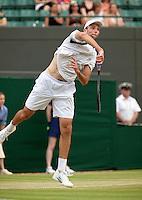 29-6-09, England, London, Wimbledon,    Ivo Karlovic