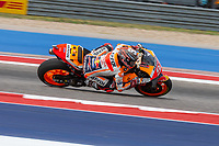 3rd October 2021; Austin, Texas, USA;  Marc Marquez of Spain and Repsol Honda Team at turn 6 during the MotoGP Red Bull Grand Prix of the Americas  at Circuit of The Americas in Austin, Texas.