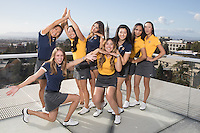 BERKELEY, CA - November 1, 2016: Cal Women's Golf Team