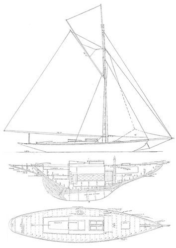 The pioneering Belfast Lough Number One Class of 1897, designed by William Fife and built by John Hilditch of Carrickfergus. So much was being freshly developed in sailing on the lough in the 1890s that the first recreational sailing steps of a century earlier tended to be overlooked.