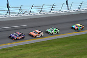 2017 NASCAR Cup - Clash at Daytona<br /> Daytona International Speedway, Daytona Beach, FL USA<br /> Sunday 19 February 2017<br /> Denny Hamlin, FedEx Express Toyota Camry, Daniel Suarez, ARRIS Toyota Camry, Kyle Busch, M&M's Toyota Camry.<br /> World Copyright: John K Harrelson/LAT Images<br /> <br /> <br /> ref: Digital Image 17DAY1jh_01721