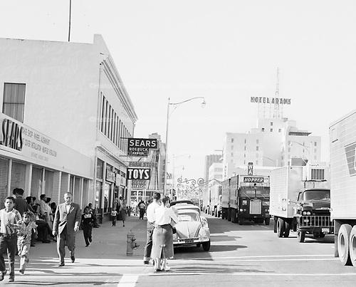0301-665A. East Adams St., Phoenix Arizona, December 5, 1958