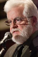 AISLIN (Terry Mosher), caricaturiste de la Gazette de Montreal, Decembre 2006<br /> <br /> PHOTO :  Agence  Quebec Presse