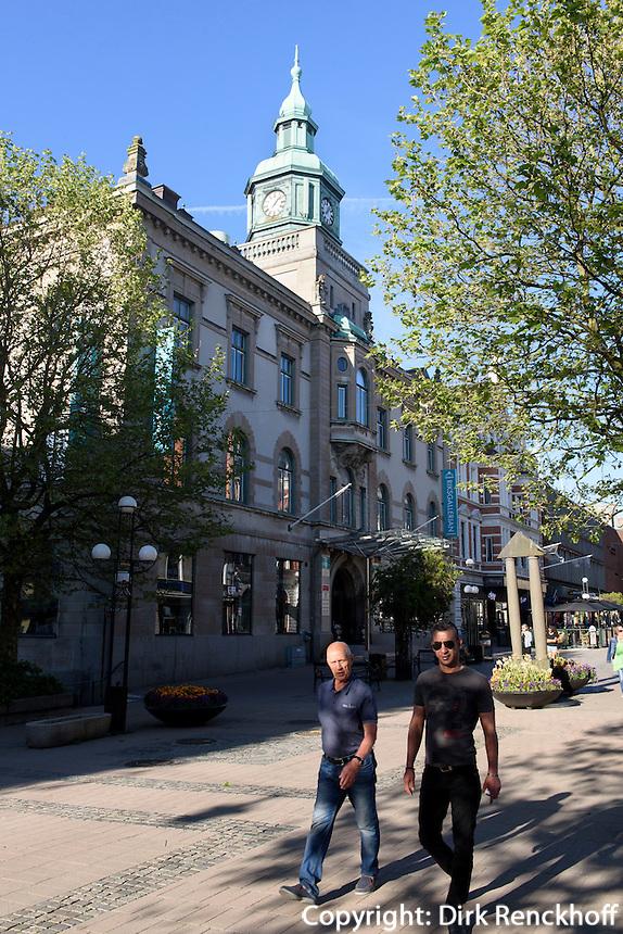 Riksgallerian-Gebäude in Karlskrona, Provinz Blekinge, Schweden, Europa, UNESCO-Weltkulturerbe<br /> Riksgallerian building  in Karlskrona, Province Blekinge, Sweden