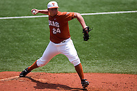 Green, Cole 0468.jpg.  Big 12 Baseball game with Texas A&M Aggies at Texas Lonhorns  at UFCU Disch Falk Field on May 9th 2009 in Austin, Texas. Photo by Andrew Woolley.