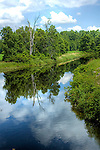 Clyde River; Lanark Co; Ontario, reflections