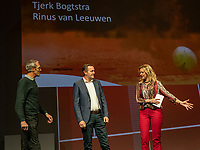 Nieuwegein, Netherlands, November 23,  2019, MBC Congrescentrum, KNLTB Year Congres , Tjerk Bogtstra and Rinus van Leeuwen (L) with Kristie Boogert<br /> Photo: Tennisimages/Henk Koster