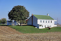Amish one room school house, Ephrata, Lancaster County, Pennsylvania, USA