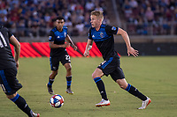 STANFORD, CA - JUNE 29: Jackson Yueill #14 during a Major League Soccer (MLS) match between the San Jose Earthquakes and the LA Galaxy on June 29, 2019 at Stanford Stadium in Stanford, California.