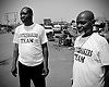 Patrick Dunkwu and Fitzpatrick Maria form the Justice makers team in Lagos, Nigeria.