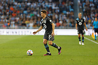 SAINT PAUL, MN - JUNE 23: Wil Trapp #20 of Minnesota United FC during a game between Austin FC and Minnesota United FC at Allianz Field on June 23, 2021 in Saint Paul, Minnesota.