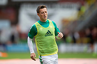 22nd August 2020; Tannadice Park, Dundee, Scotland; Scottish Premiership Football, Dundee United versus Celtic; Callum McGregor of Celtic during the warm up before the match