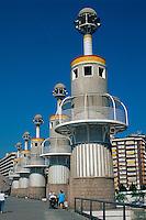 Spanien, Katalonien, Barcelona, Parc de l'Espanya Industrial