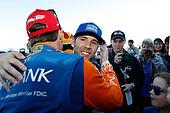 Champion Scott Dixon, Chip Ganassi Racing Honda, Ed Jones, Chip Ganassi Racing Honda